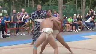Всеукраинский турнир по борьбе сумо прошел в Харькове