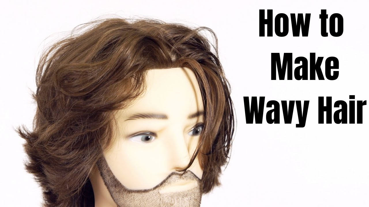 How To Make Straight Hair Wavy Thesalonguy Youtube