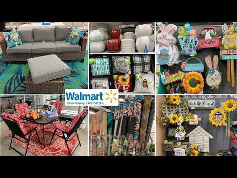 Walmart Patio Furniture * Spring Home Decor | Shop With Me 2020