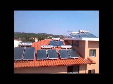 Ηλιακοι θερμοσιφωνες Romina απο 750€ τα 160lt