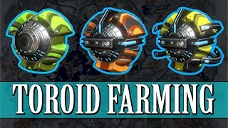 Warframe - FORTUNA - Toroid Farming