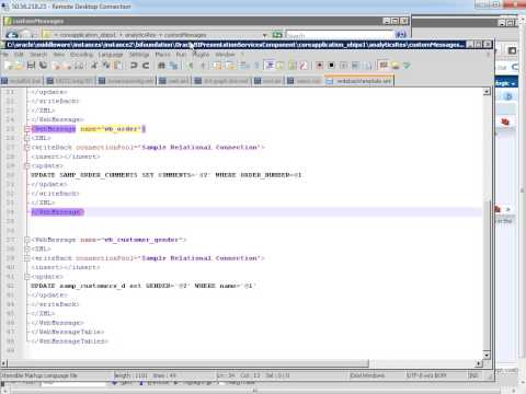Implementing OBIEE Write Back - OBIEE Online Training Tutorial