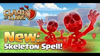 Clash of Clans - NEW SKELETON SPELL! | NEW VILLAGE EDIT MODE! - New Update/Sneak Peek