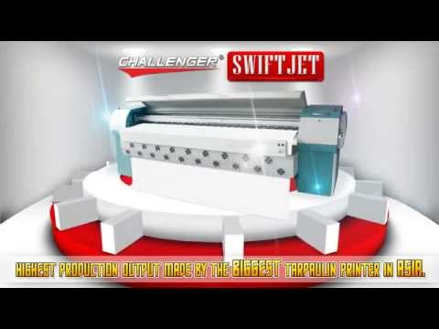 Tarpaulin Printer - CHALLENGER SWIFTJET