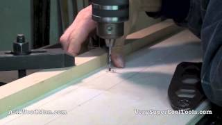 Auxiliary Fence Drill Press Hole Drilling And Laminate 10 Of 12