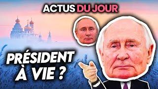 Poutine président à vie, la France bloque les vaccins aux pays pauvres, bugs des ENT.. Actus du jour