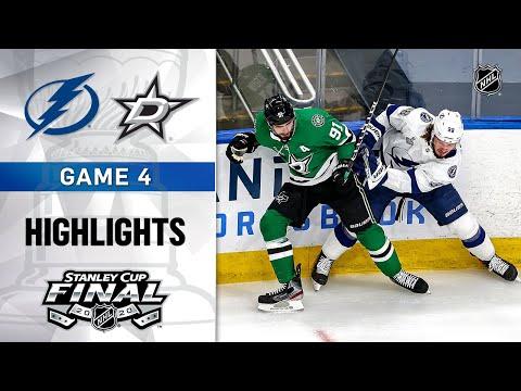NHL Highlights | Stanley Cup Final, Gm4 Lightning @ Stars - Sept. 25, 2020