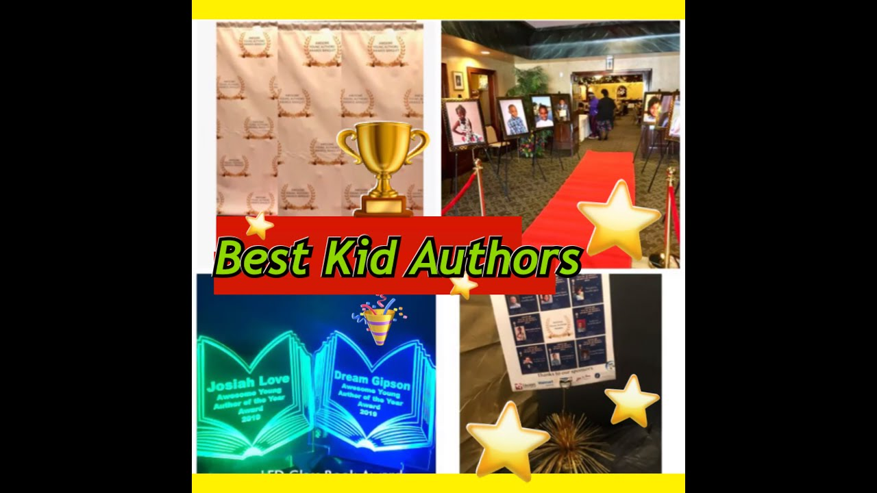 #BestKidAuthors #RedCarpet Awesome Young Author's Awards recap