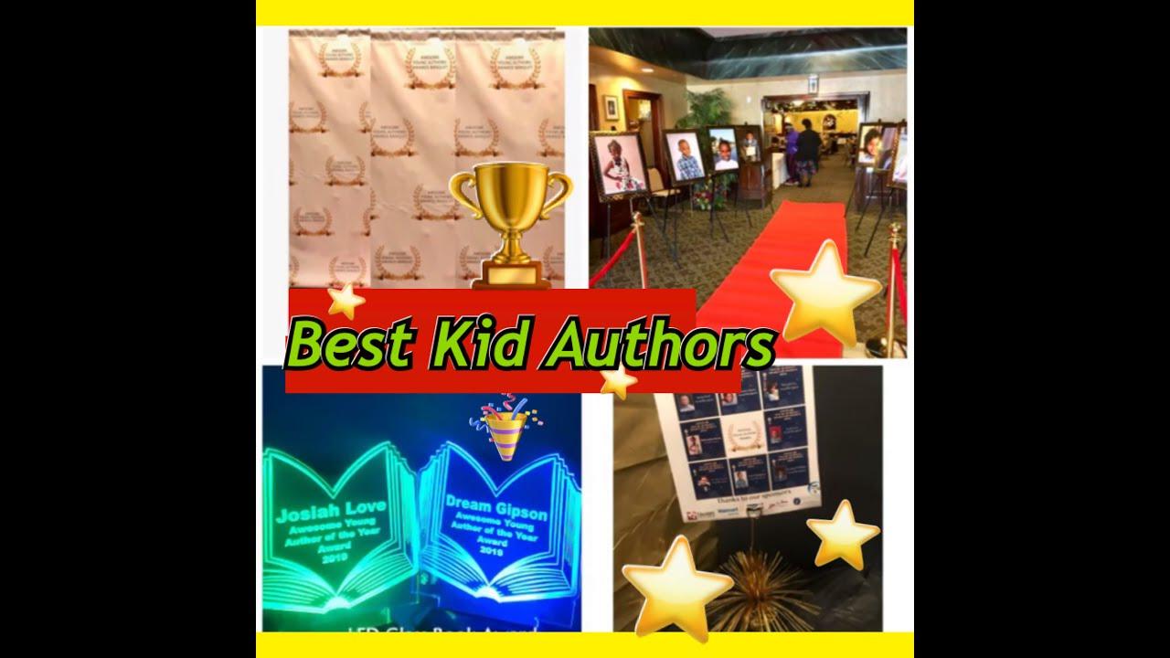 #BestKidAuthors #RedCarpet Awesome Young Author's Awards recap