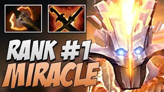 Liquid.Miracle Juggernaut - Rank 1 in 7.20 | Dota Gameplay