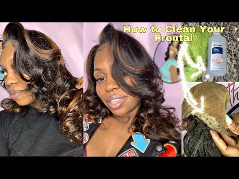 "HOW TO CLEAN A AFFORDABLE $117 ""Lace Frontal"" Wig 