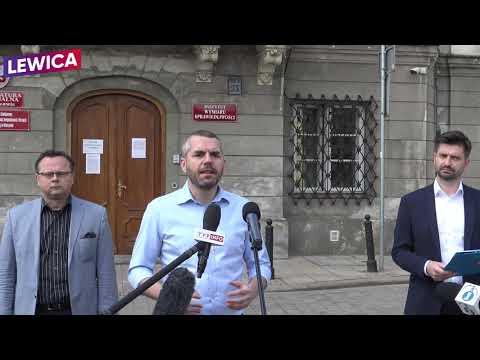 Zawiadomienie doprokuratury ws.podejrzenia popełnienia przestępstwa przezM.Morawieckiego iJ.Sasina