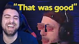 """SypherPK Reacts to Our Montage """"We Enhanced Aimbots with this Fortnite Edit """""""