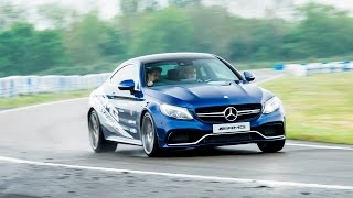 Gambar cover A day in the life of a professional stunt driver at Mercedes Benz world