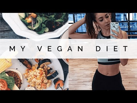 I WENT VEGAN! | WHAT I EAT IN A WEEK | Danielle Peazer