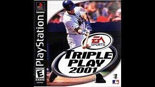 Triple Play 2001 (PlayStation) - Arizona Diamondbacks vs. Atlanta Braves