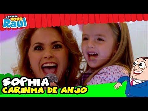 Sophia Carinha De Anjo Raul Gil Youtube