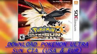 Working Pokemon Ultra Sun And Ultra Moon ROM DOWNLOAD  CIA  3DS
