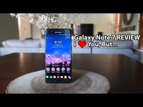 Samsung Galaxy Note 7 REVIEW | I Love You, But...
