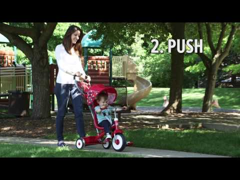 Radio Flyer - Deluxe 4-in-1 Stroll 'N Trike   Toys R Us Canada