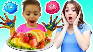 Wash Your Hands story + more Children's Songs and Videos
