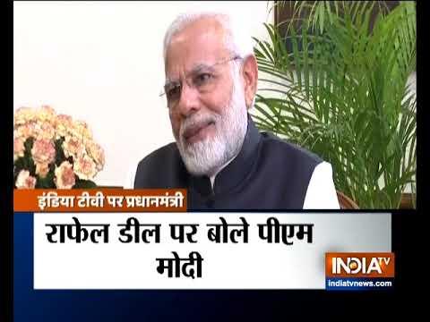 PM Modi's interview on Rafale deal