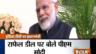 PM Modi\'s interview on Rafale deal