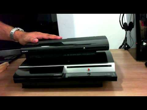 Comparativo Playstation 3 Modelo Ultra Slim e FAT