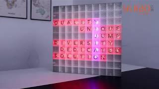 window display  RGB  led light box