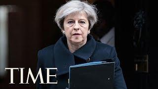 Theresa May Gives News Conference At G7 Summit | LIVE | TIME