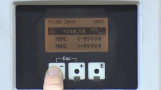 Basic Set Up of an Endress + Hauser Promag 53(How to set up an Endress + Hauser Promag 53., 2013-07-15T13:53:00.000Z)