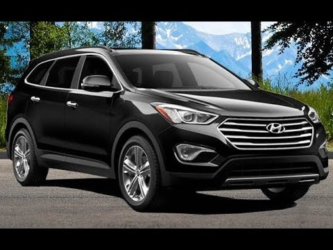 2014 hyundai santa fe gls review youtube. Black Bedroom Furniture Sets. Home Design Ideas