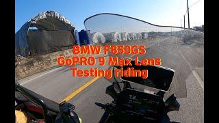BMW F850GS 1월의 봄날 같은 라이딩