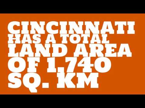 How does the population of Cincinnati rank?