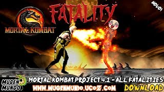 Mortal kombat project 4.1 - fatalities