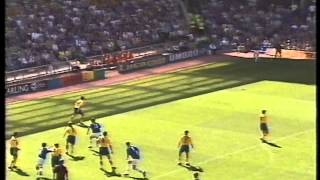 Everton 1 C Palace 2 - 09 August 1997