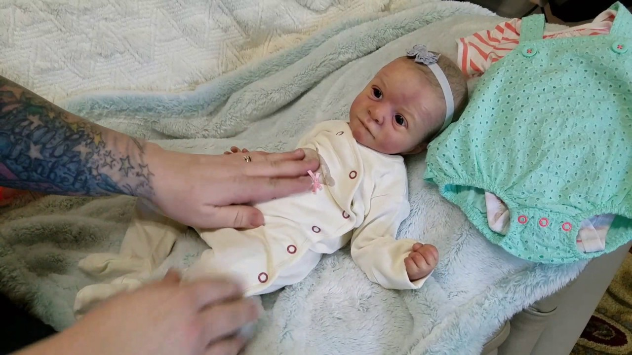 Box Packing Of Reborn Baby Doll Sold On Ebay Youtube