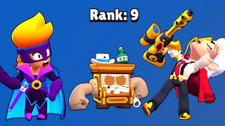 Belle + All New Skins Losing Pose & Winning Pose | Brawl Stars