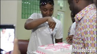 Nigerian Actress Chioma Akpotha39s Surprised Bday Party In Ghana