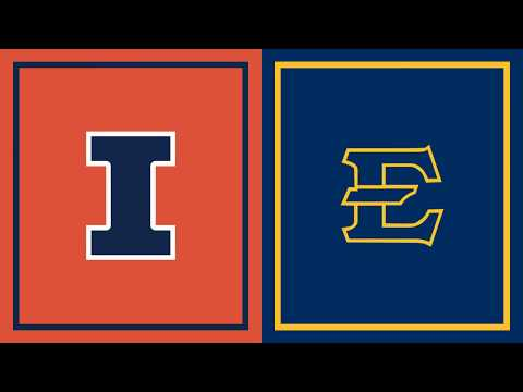 Highlights: East Tennessee State at Illinois   Big Ten Basketball