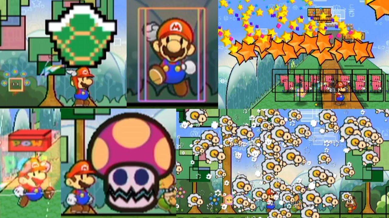 【スーパーペーパーマリオ】アイテムアタック集 / Super Paper Mario - All Item Attacks