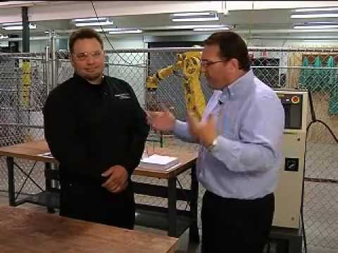 Jobs First at Kalamazoo Valley Community College's Mechatronics Academy