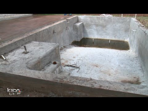 Thumbnail: When builder walked away, homeowners left with unfinished pools