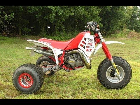1985-1986 Honda ATC250R Motocross Project:
