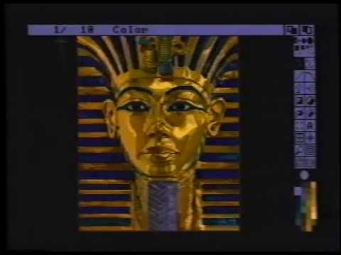 Profesional Techniques for Deluxe Paint III [1989] (Re-Upload in One-Piece)  - YouTube