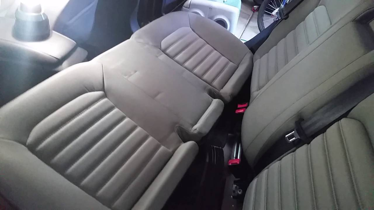 Fix Ford Fusion Rear Seat Stuck Down