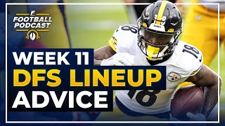 DFS Lineup Advice: Week 11 (2020 Fantasy Football)