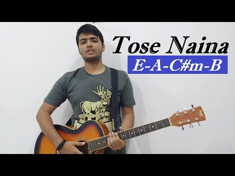 Tose Naina || Guitar Lesson || Guitar Cover & Chords || By Acoustic Savn