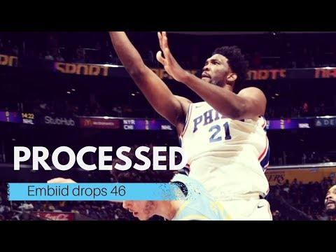 Embiid drops 46 || Lakers vs 76ers ||