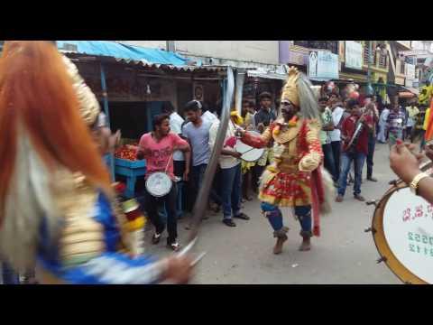 Veeragase with tamate beats kamalanagar